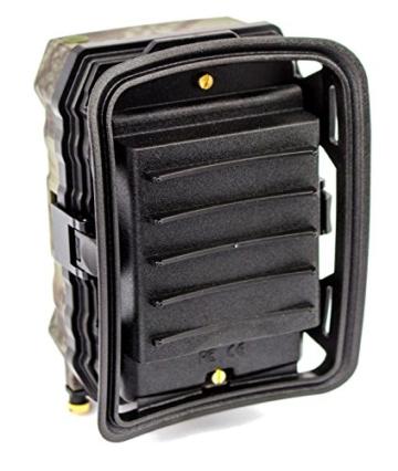 Full HD Wildkamera 1080p 720p Black LED Fotofalle Überwachungskamera 12MP mit Speicherkarte & Batterien -