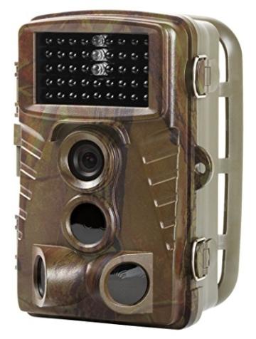 MEDION Wildkamera S49119 MD 87396, 5.0 MP, Heimüberwachung oder Tierbeobachtung, Spritzwassergeschützt, Full-HD, Belichtungsautomatik, Mikrofon, Lautsprecher, grün -