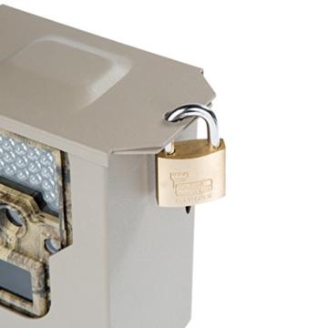 Ultrasport UmovE Metall-Schutzgehäuse mit Deckel-Schlossvorrichtung für Überwachungskamera/Wildkamera Secure Guard Ready und Pro Ready -